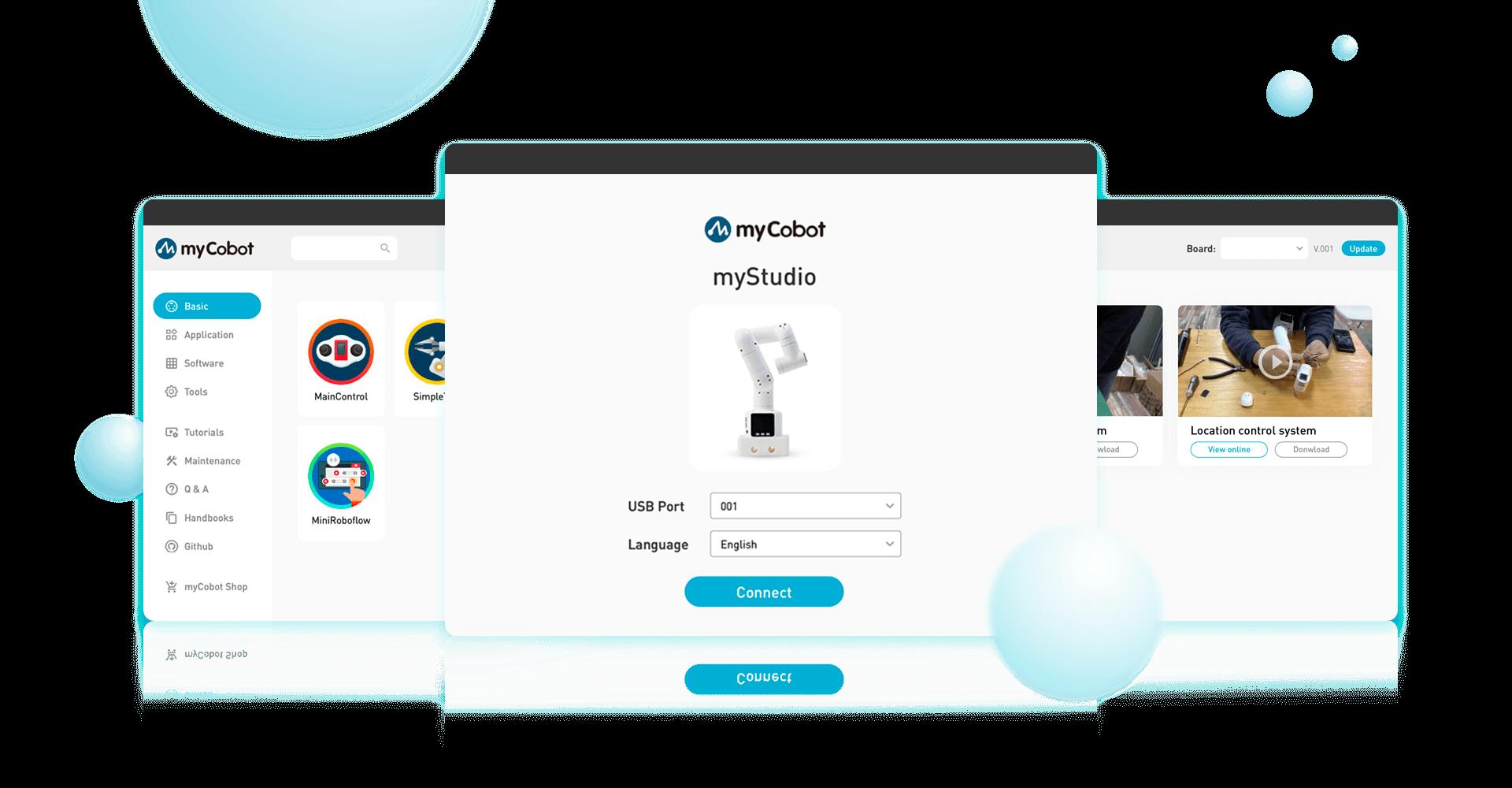 myStudio screenshoot